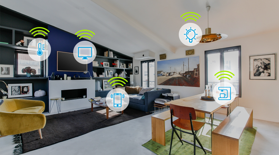 smart home devices at The Good Guys